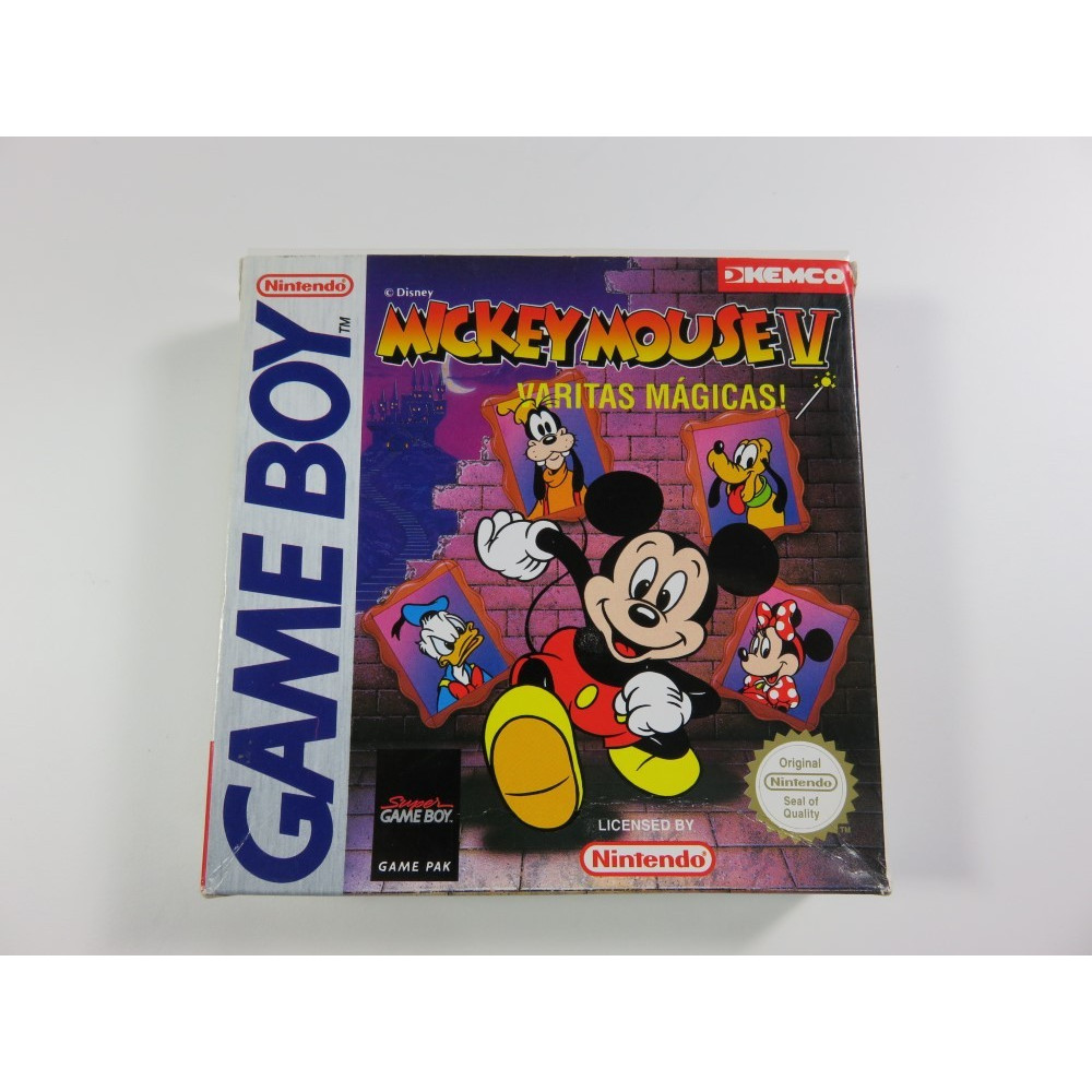 MICKEY MOUSE V : VARITAS MAGICAS! GAMEBOY ESP OCCASION