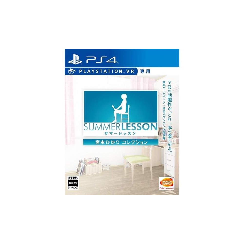 SUMMER LESSON MIYAMOTO HIKARI EDITION PS4 JPN OCCASION