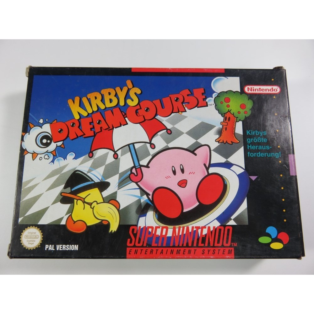 KIRBY S DREAM COURSE SNES PAL-NOE OCCASION