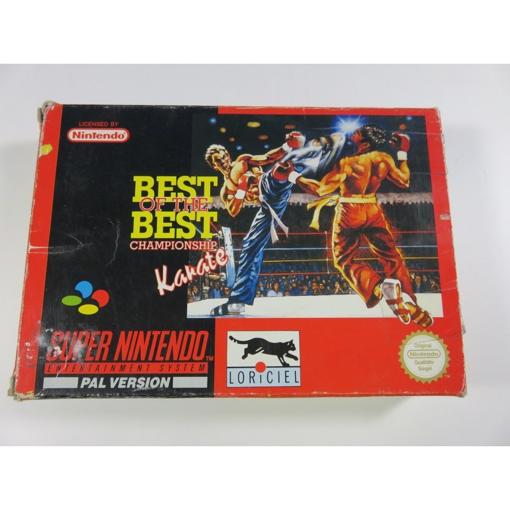 BEST OF THE BEST CHAMPIONSHIP KARATE SNES PAL-NOE OCCASION