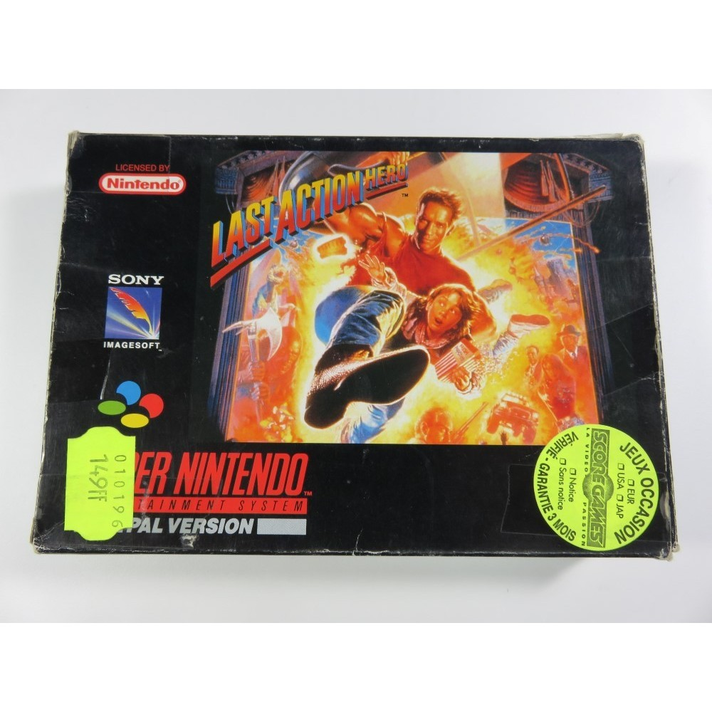 LAST ACTION HERO SNES PAL-NOE OCCASION