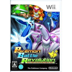POKEMON BATTLE REVOLUTION WII NTSC-JPN OCCASION