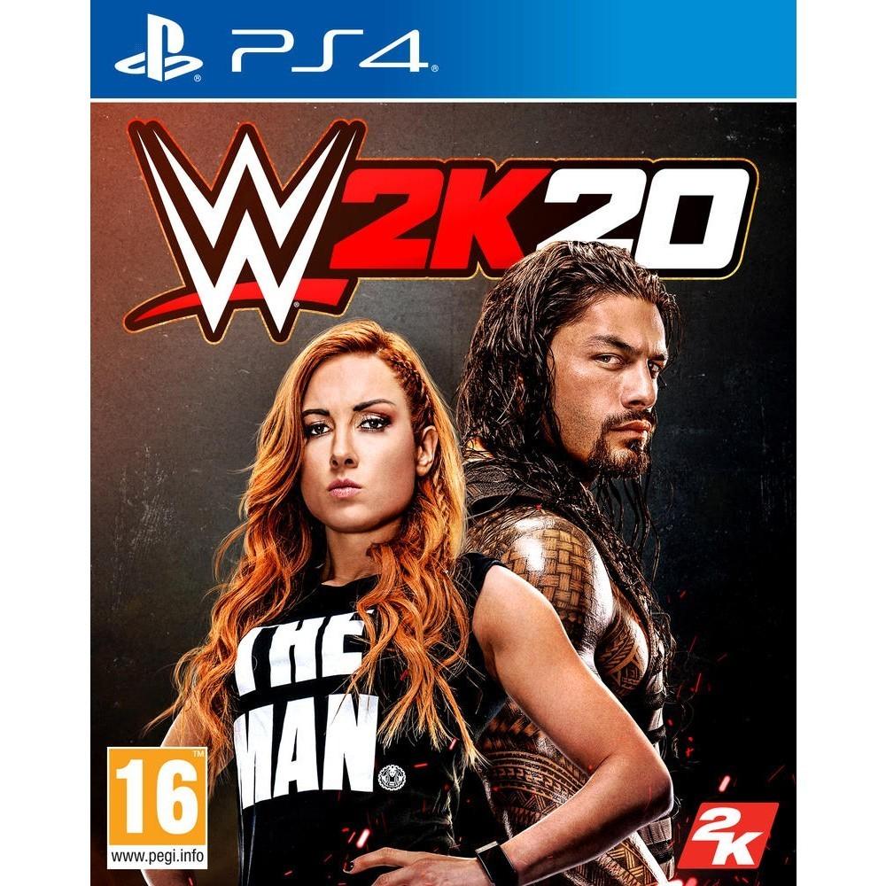 WWE 2K20 PS4 ALLEMAND AVEC TEXTE EN FRANCAIS OCCASION