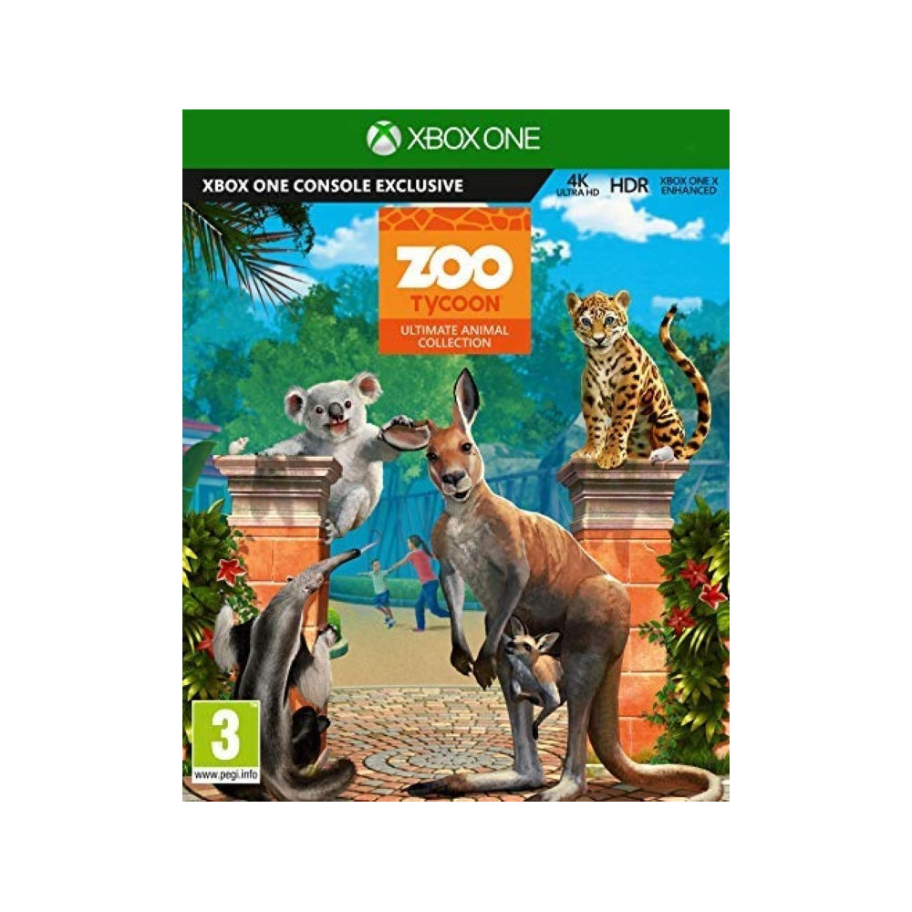 ZOO TYCOON ULTIMATE ANIMAL COLLECTION XBOX ONE FR OCCASION