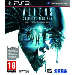 ALIENS COLONIAL MARINE LIMITED EDITION PS3 EURO FR OCCASION