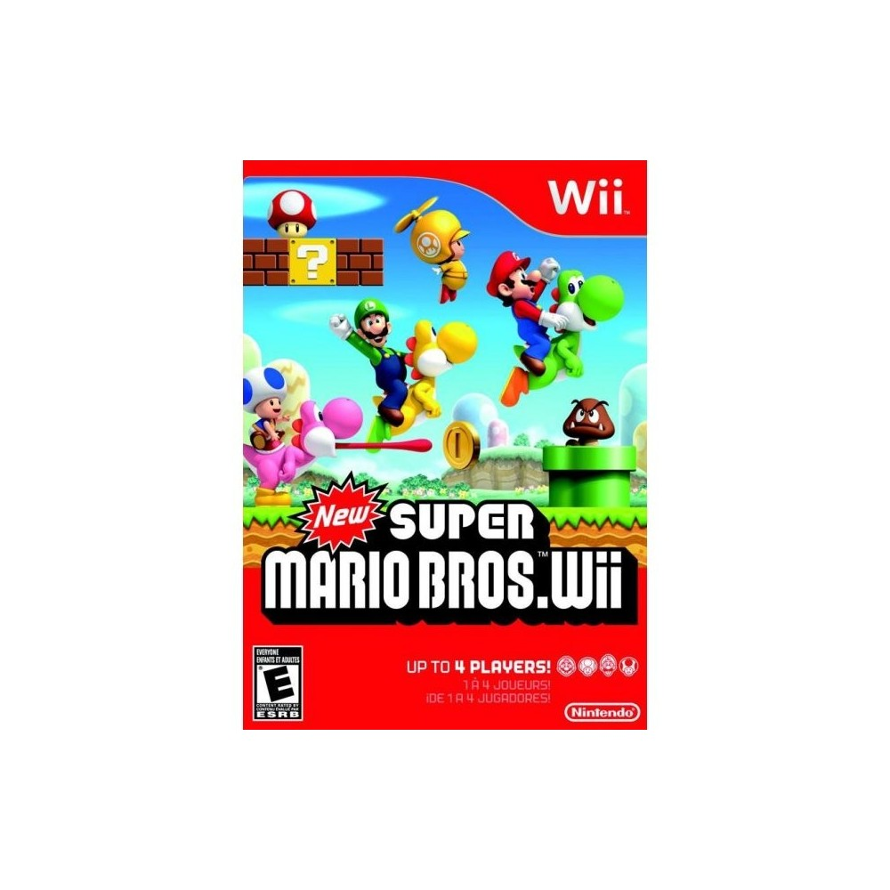 NEW SUPER MARIO BROS. WII NTSC-USA (SANS NOTICE)