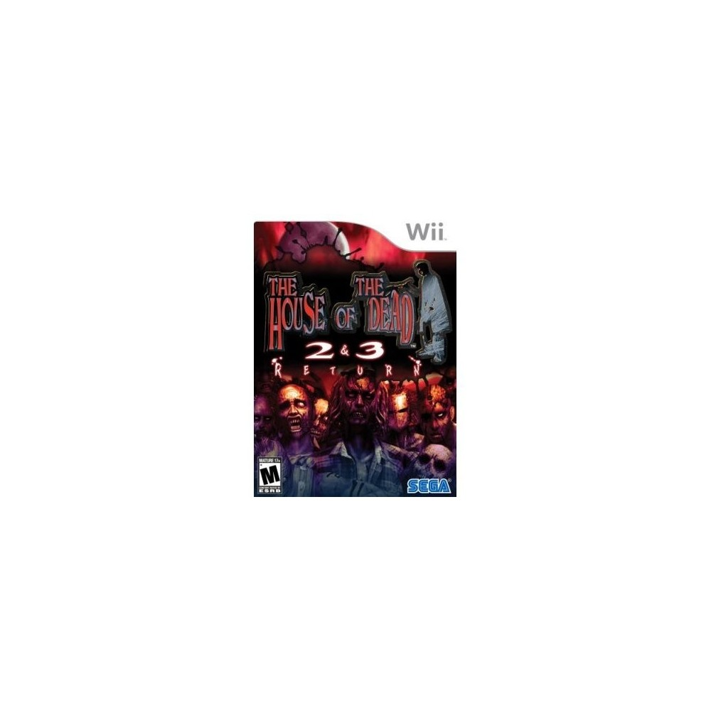 THE HOUSE OF THE DEAD 2 & 3 RETURN WII NTSC-USA (COMPLET)