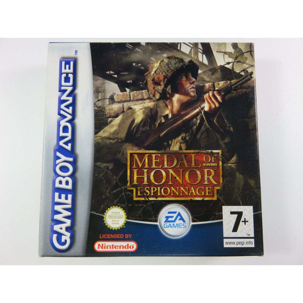 MEDAL OF HONOR ESPIONNAGE GAMEBOY ADVANCE (GBA) PAL-FRA OCCASION