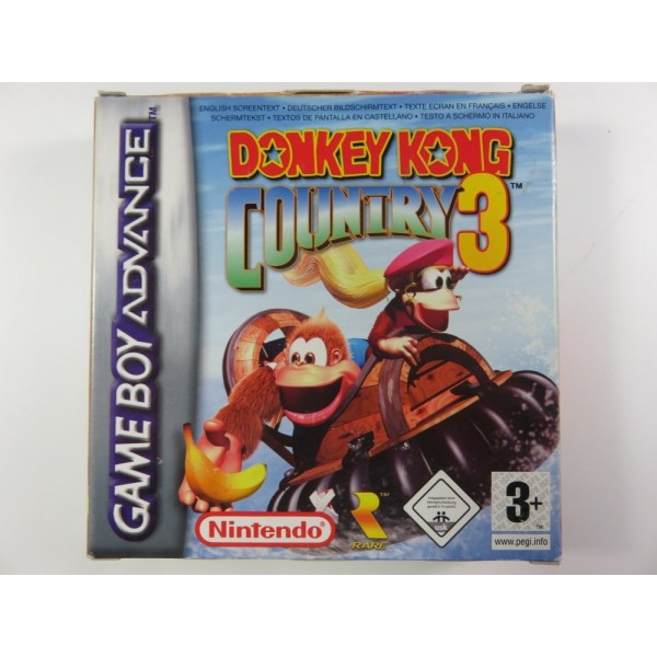 DONKEY KONG COUNTRY 3 GBA PAL-EURO OCCASION
