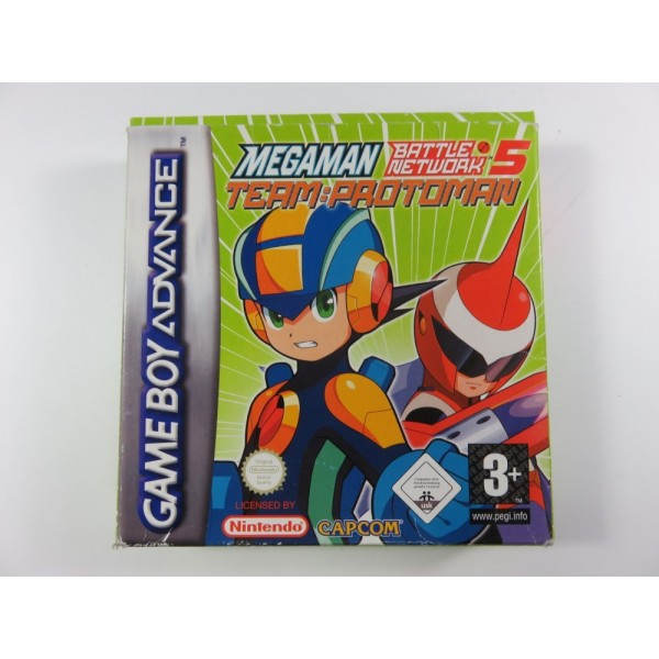 MEGAMAN BATTLE NETWORK 6 GBA EUR OCCASION