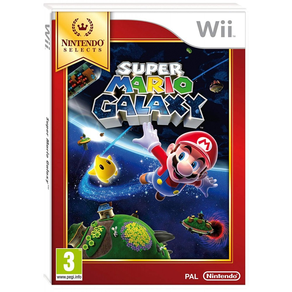 SUPER MARIO GALAXY NINTENDO SELECTS WII PAL-FR OCCASION