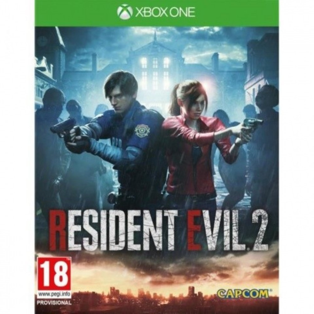 RESIDENT EVIL 2 BUNDLE COPY XBOX ONE UK OCCASION