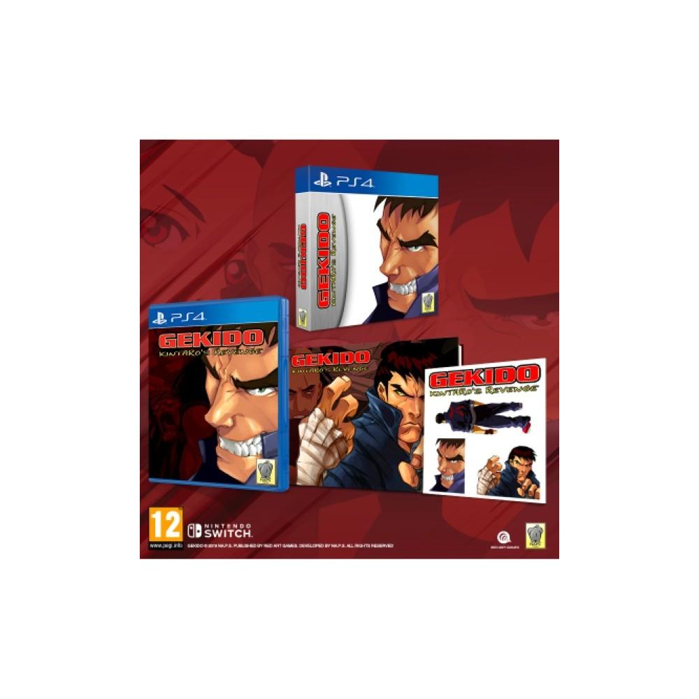 GEKIDO KINTARO S REVENGE PS4 FR OCCASION
