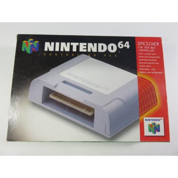 CONTROLLER PAK - CARTE MEMOIRE N64 NOE OCCASION
