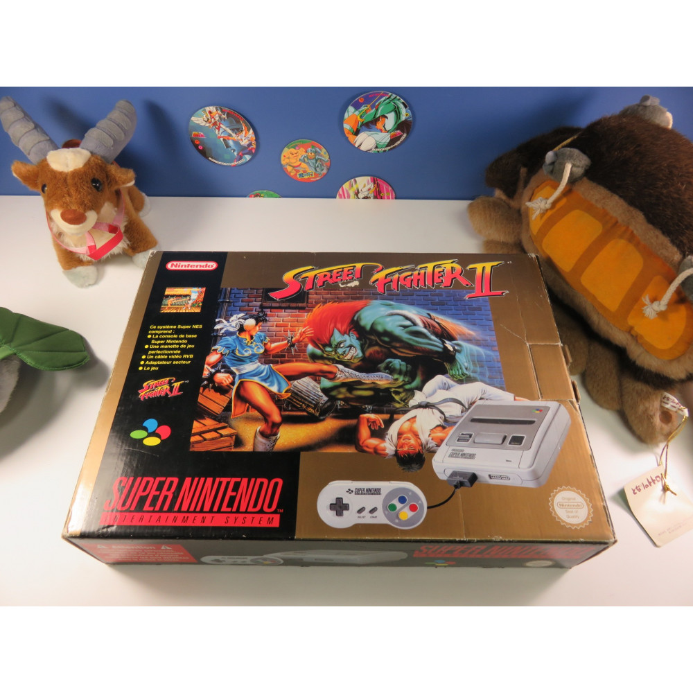 CONSOLE SUPER NINTENDO PACK STREET FIGHTER II PAL-FR OCCASION