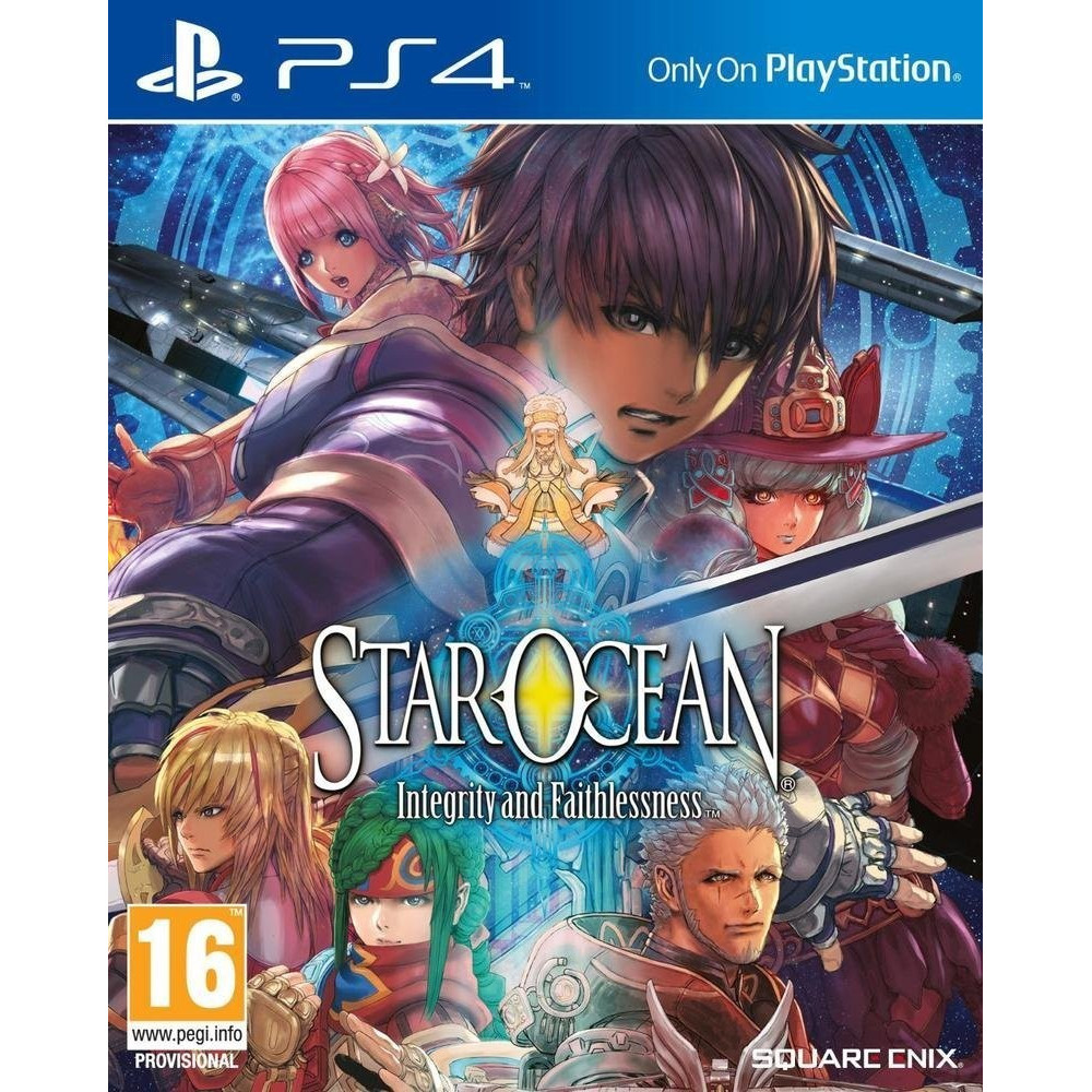 STAR OCEAN INTEGRITY AND FAITHLESSNESS PS4 FR OCCASION