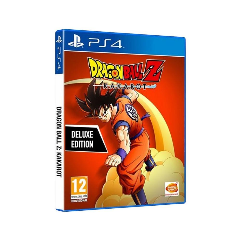 DRAGON BALL Z KAKAROT DELUXE EDITION PS4 UK NEW