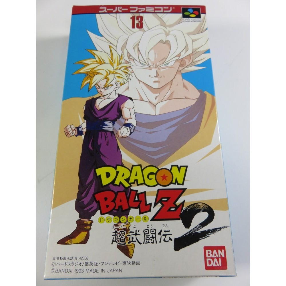 DRAGON BALL Z SUPER BUTOUDEN 2 SFC NTSC-JPN NEW NEUF