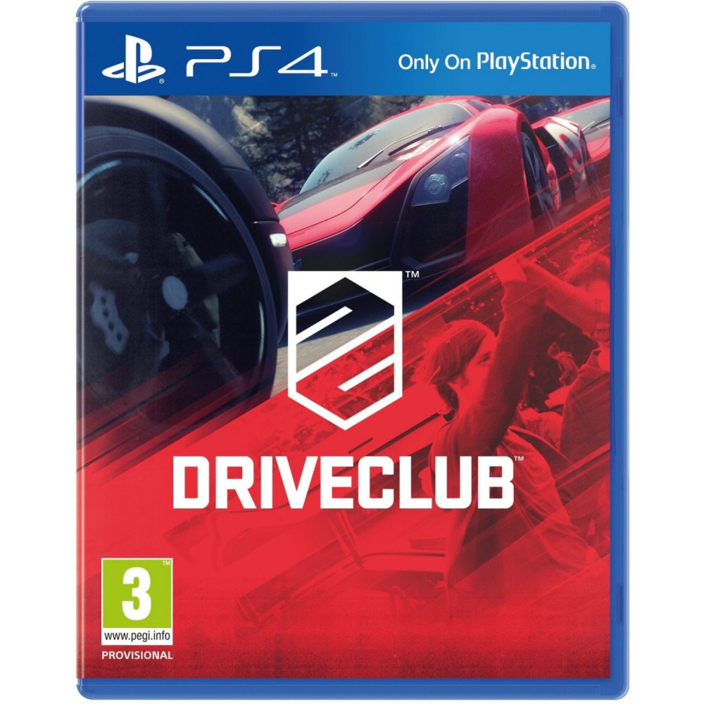 DRIVE CLUB PS4 FR OCCASION