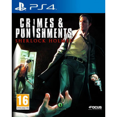 SHERLOCK HOLMES CRIMES & PUNISHMENTS PS4 FR OCCASION