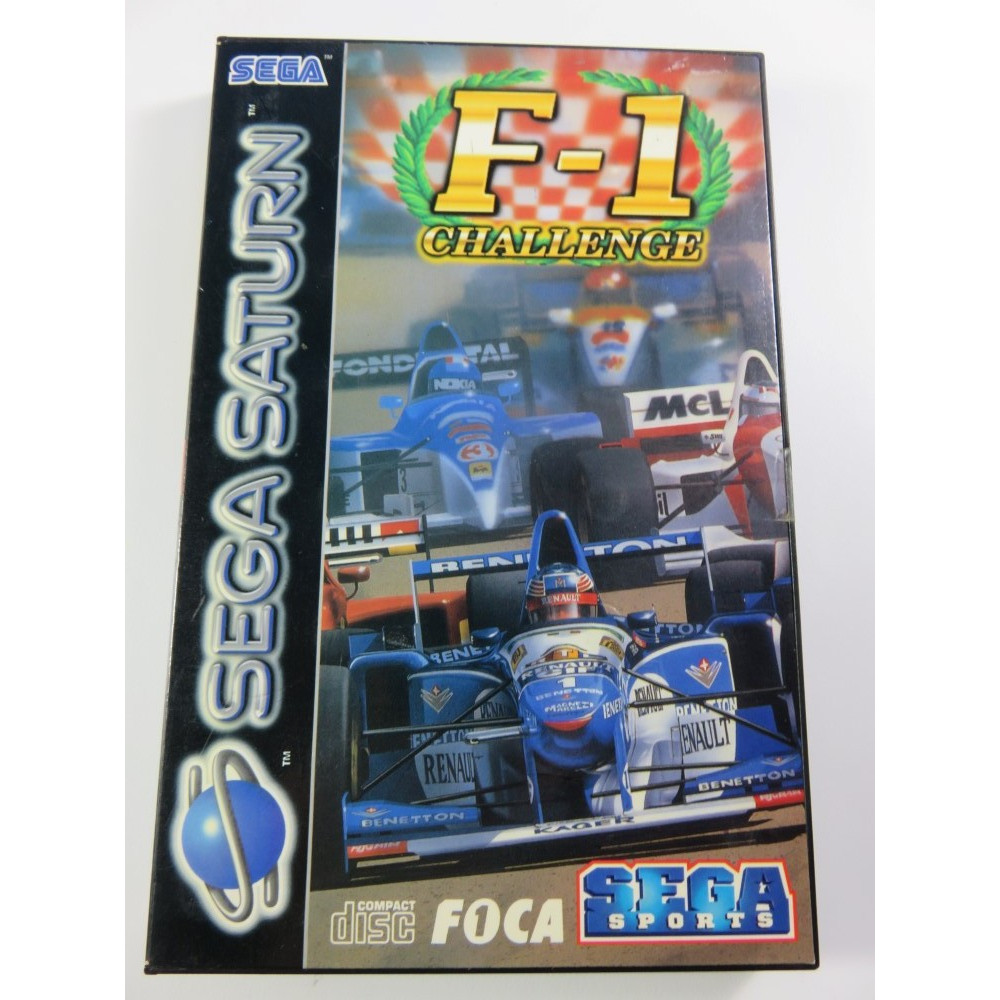 F-1 CHALLENGE SATURN PAL-EURO (COMPLET - GOOD CONDITION)