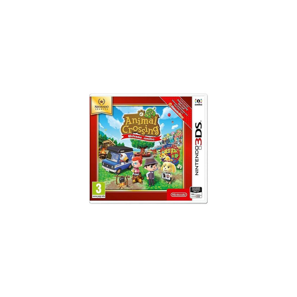 ANIMAL CROSSING NEW LEAF WELCOME AMIIBO NINTENDO SELECTS 3DS FR OCCASION