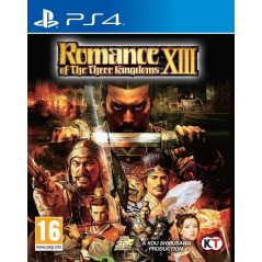 ROMANCE OF THE THREE KINGDOMS XIII PS4 FR NEW