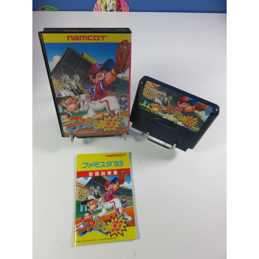 PRO YAKYUU (90) - FAMILY STADIUM FAMICOM NTSC-JPN OCCASION