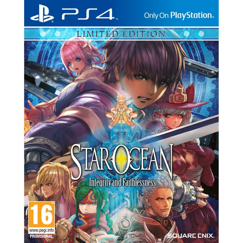 STAR OCEAN INTEGRITY AND FAITHLESS LIMITED EDITION PS4 EURO NEW
