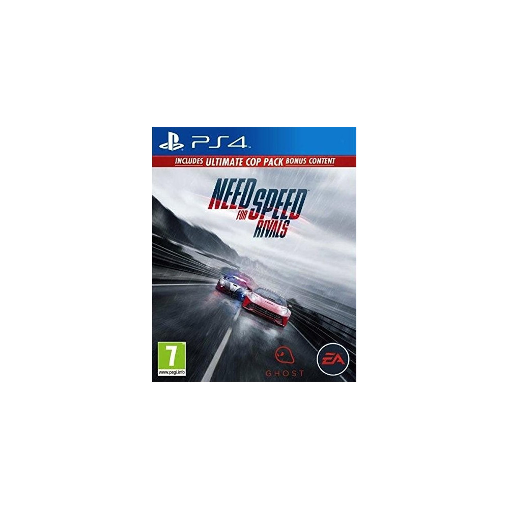 NEED FOR SPEED RIVALS PACK ULTIMATE COP PS4 FR OCCASION