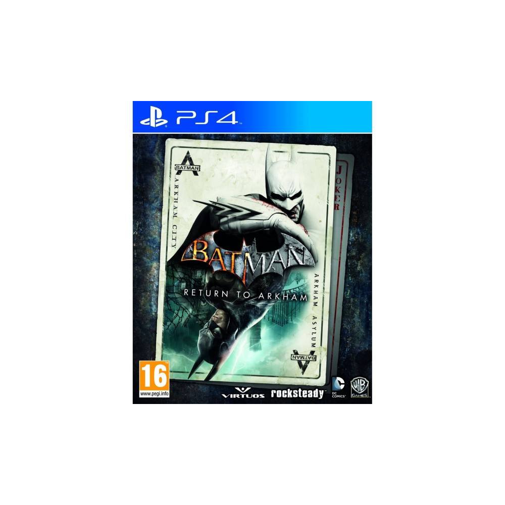 BATMAN RETURN TO ARKHAM PS4 UK NEW