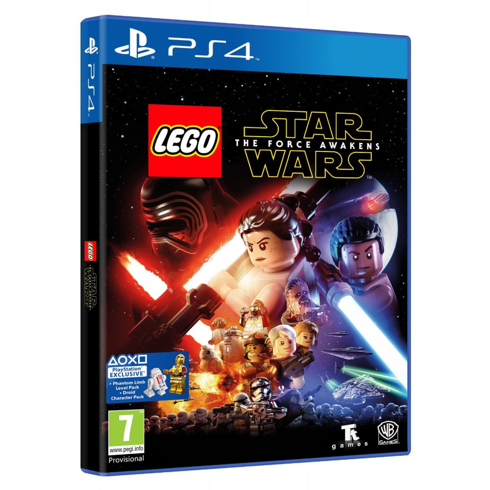 LEGO STAR WARS PS4 ITALIEN AVEC TEXTE EN FRANCAIS NEW