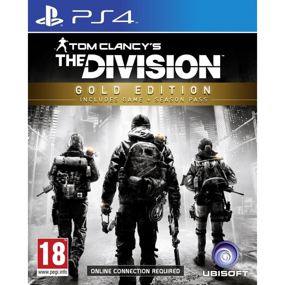 THE DIVISION EDITION GOLD PS4 FR OCCASION