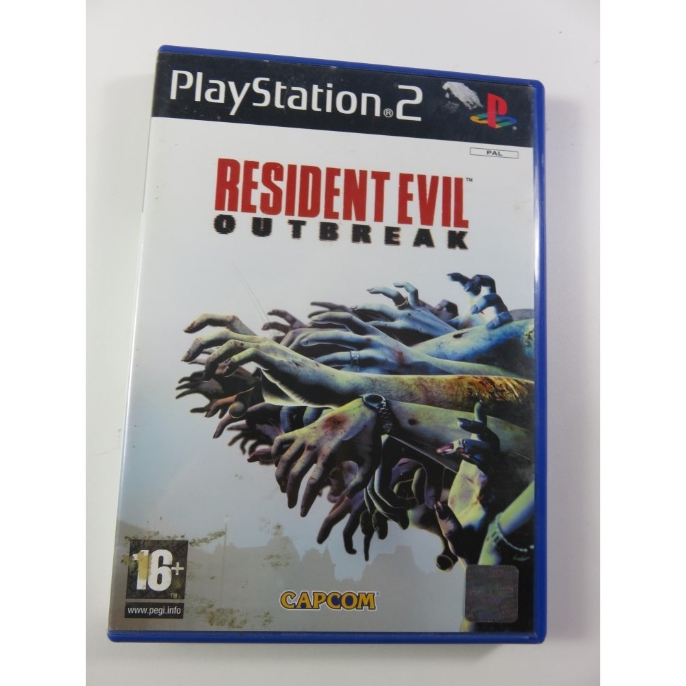 RESIDENT EVIL DEAD AIM PS2 PAL-FR OCCASION