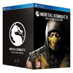 MORTAL KOMBAT X COLLECTOR PS4 FR OCCASION