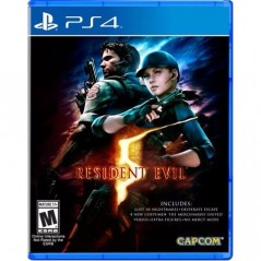 RESIDENT EVIL 5 PS4 US OCCASION