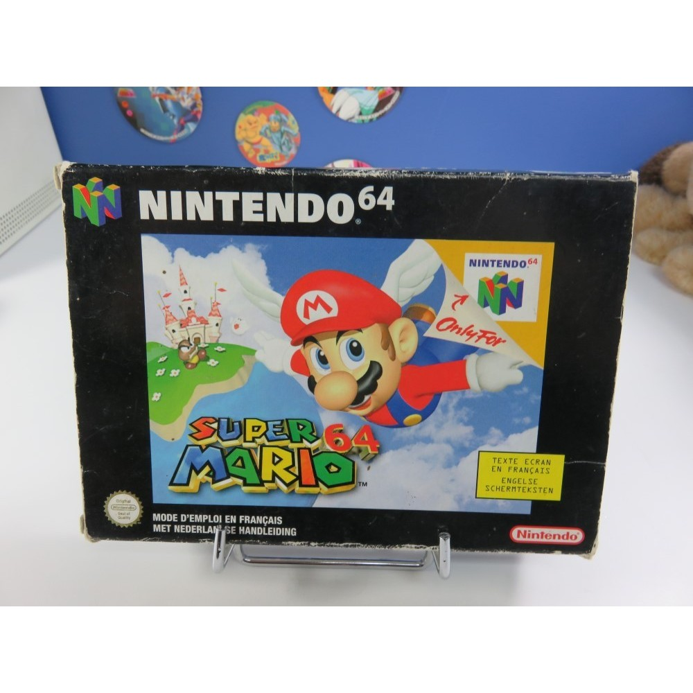 MARIO PARTY 2 N64 PAL-NEU6-1 OCCASION