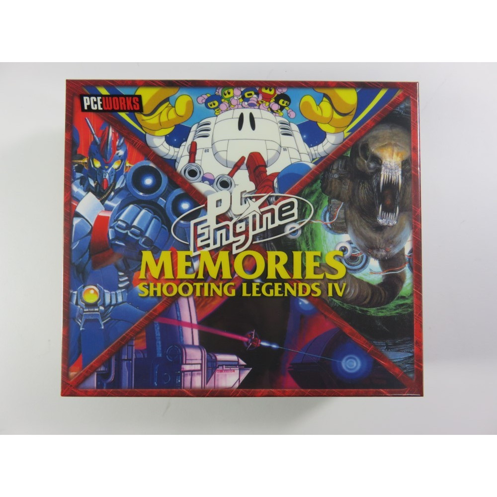PC ENGINE MEMORIES SHOOTING LEGENDS IV NEC PCE SUPER CD-ROM2 BOOTLEG NEW