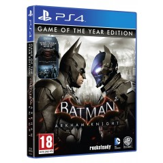 BATMAN ARKHAM KNIGHT EDITION GAME OF THE YEAR PS4 FR NEW