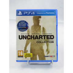 UNCHARTED THE NATHAN DRAKE COLLECTION BUNDLE COPY PS4 FR OCCASION