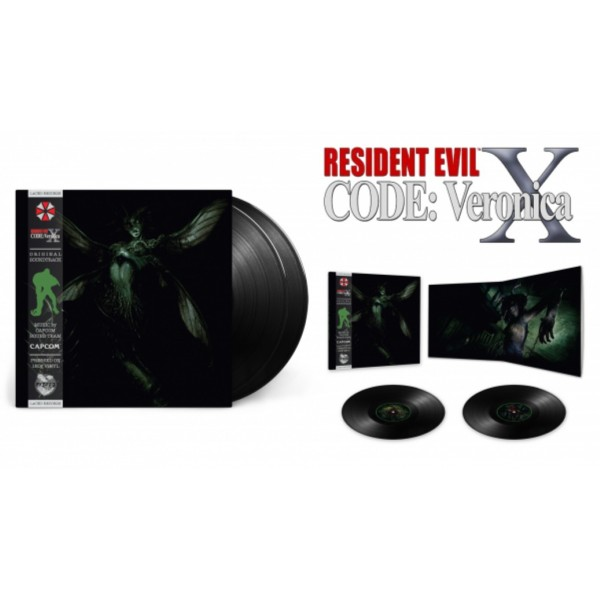 VINYLE RESIDENT EVIL CODE: VERONICA X (LACED RECORDS) NEW