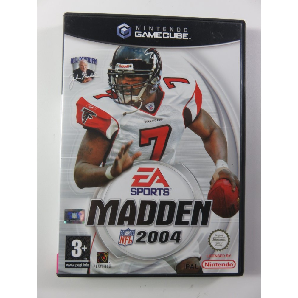 MADDEN 2004 GAMECUBE PAL-FR OCCASION