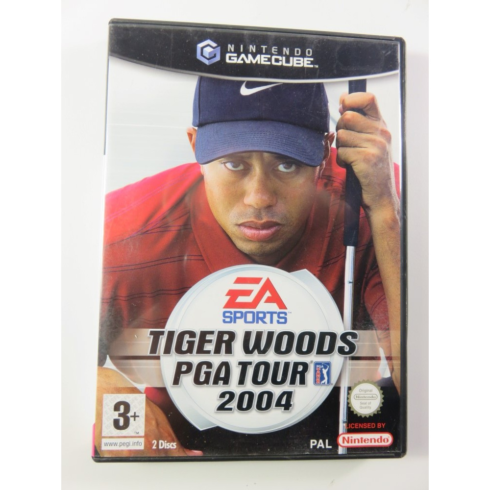 TIGER WOODS PGA TOUR 2004 GAMECUBE PAL-FR OCCASION
