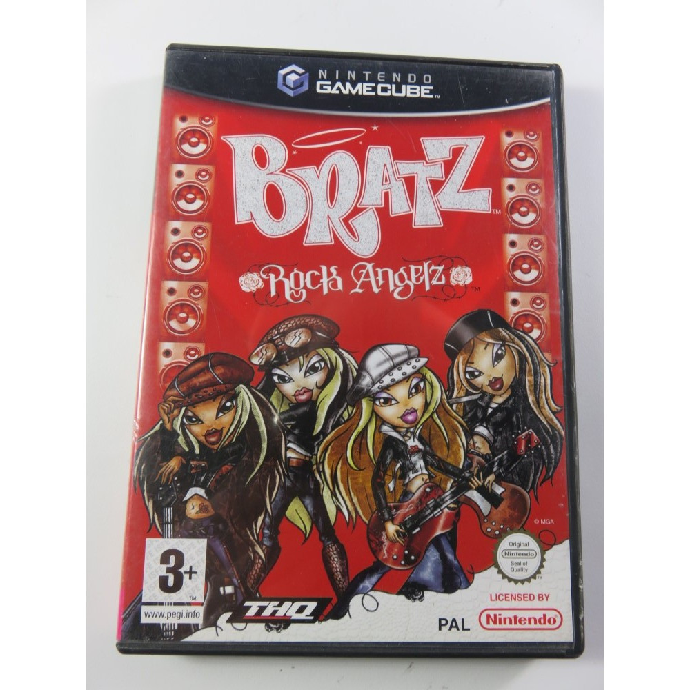 BRATZ : ROCK ANGELZ GAMECUBE PAL-FR OCCASION