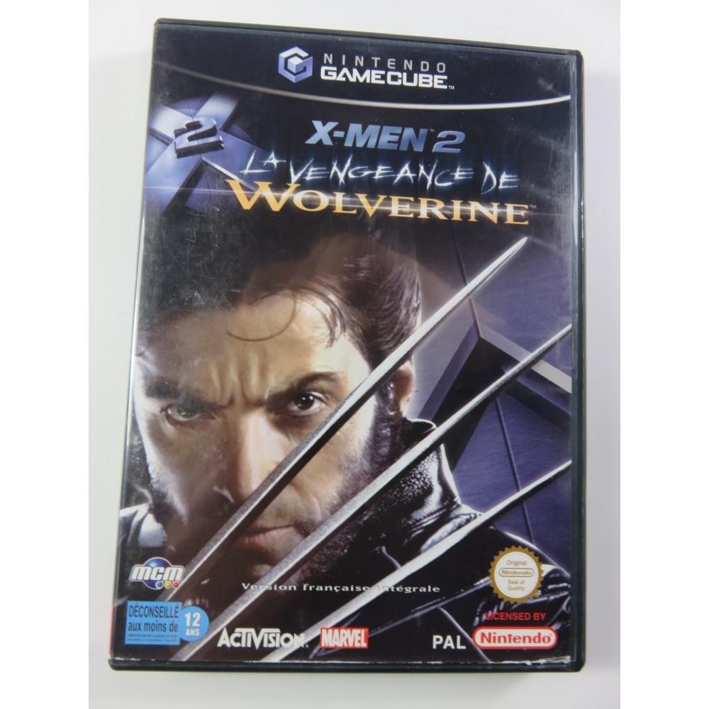 X-MEN 2 LA VENGEANCE DE WOLVERINE GAMECUBE PAL-FRA OCCASION