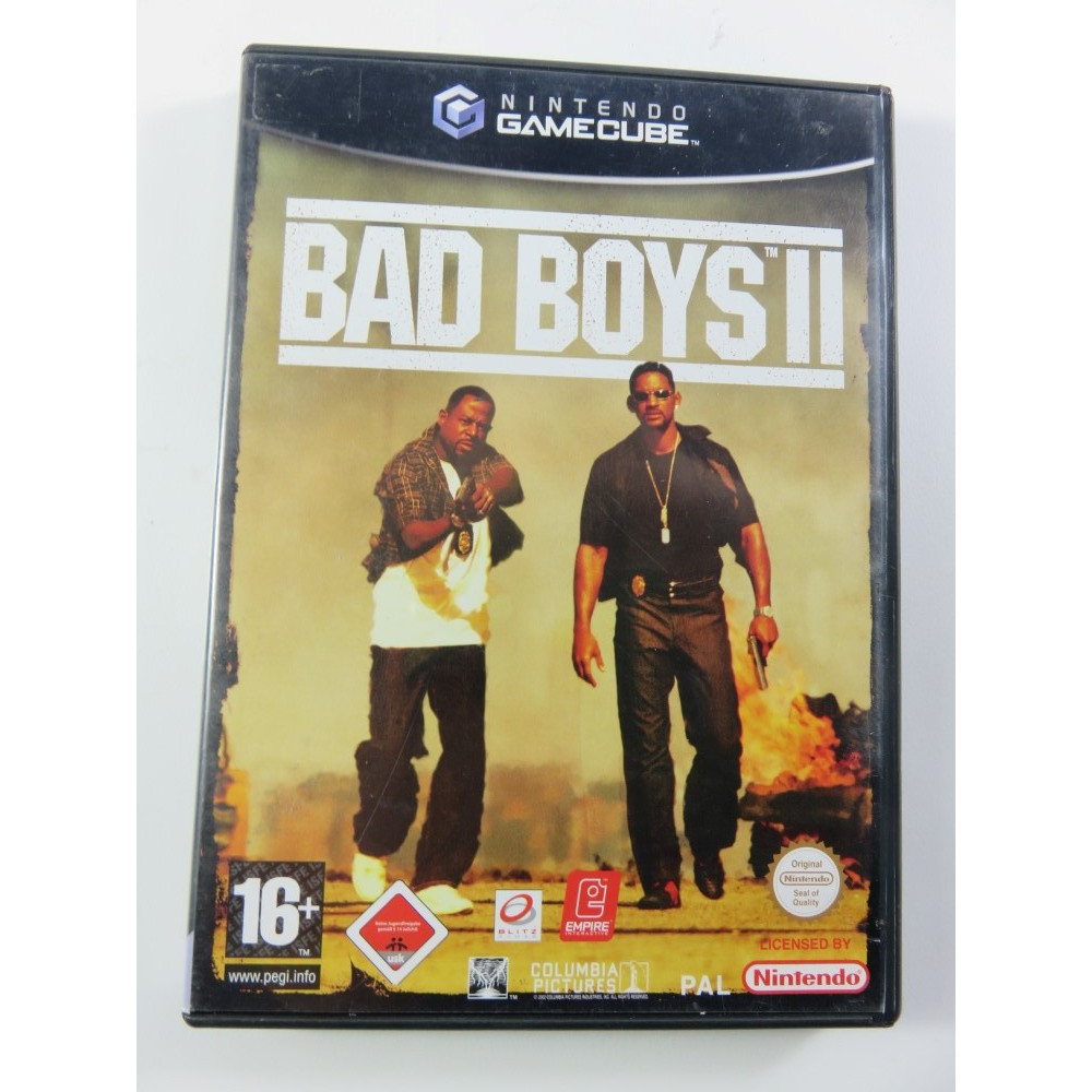 BAD BOYS II GAMECUBE PAL-EURO OCCASION