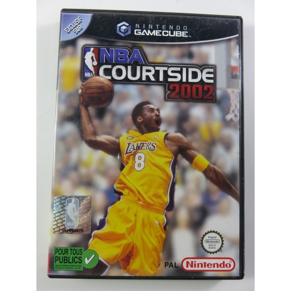 NBA COURTSIDE 2002 GAMECUBE PAL-FRA OCCASION