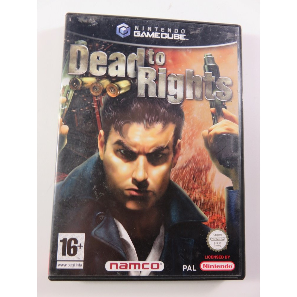 DEAD TO RIGHTS GAMECUBE PAL-FR OCCASION