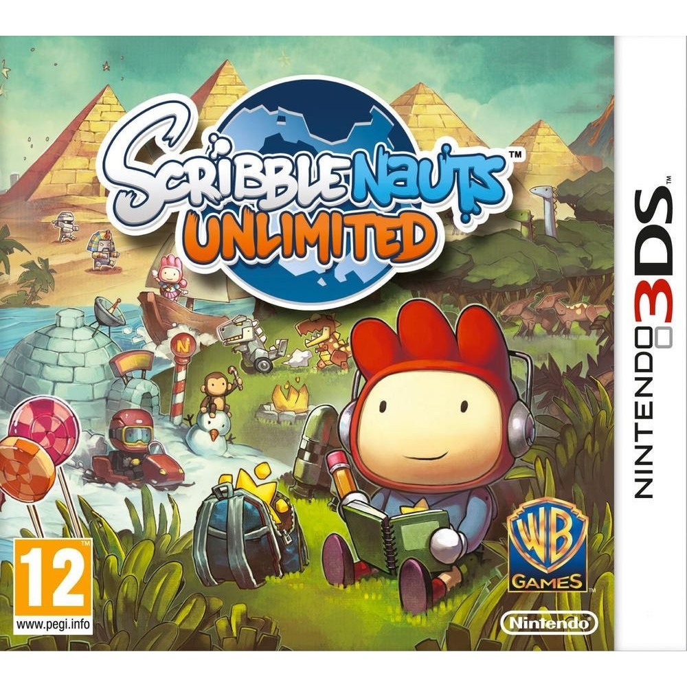 SCRIBBLENAUTS UNLIMITED 3DS FR OCCASION
