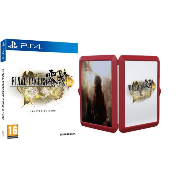 FINAL FANTASY TYPE 0 HD LIMITED EDITION PS4 ANGLAIS OCCASION